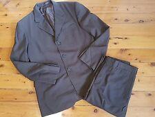 Prada Milano: Mens Brown Blazer/Pants Set, Suit, Size 52