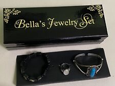 Twilight New Moon Bella Swan Jewelry Box Set Ring Cuff Bracelet Prop Replica