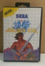 Golden Axe (Sega Master, 1989) Complete in Box