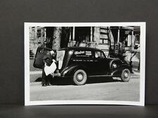Vintage Delivery Truck, Photo Reprint, c. 1930s Wisconsin, Modern Food Shop V#16