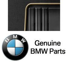 For F30 320i Set of Rear Left & Right Beige Black All Weather Floor Mats Genuine