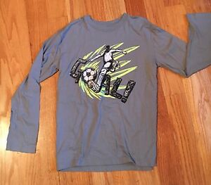 The Children's Place Boys Long Sleeve Soccer Shirt Youth XL 14 EUC ~ barely worn