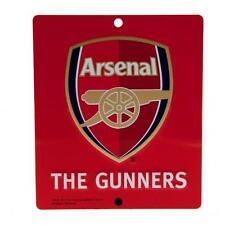 Arsenal F.C. The Gunners Metal Crest Window Sign ( f25wisar )
