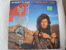 ROBERT PLANT NOW AND ZEN VINYL LP 1988 ES PARANZA RECORDS HEAVEN KNOWS, WHY, VG+