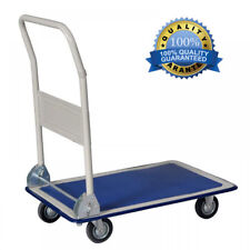 330lbs Platform Cart Dolly Folding Foldable Moving Warehouse Push Hand Truck New