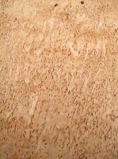 Birke Maser Furnier Maserbirke Intarsie 2W 110x24/26cm 2 Bl