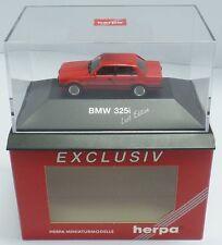 Herpa nº 161930 BMW 325i (e30) 'Last Edition' , Rouge (PC Somo) - NEUF dans sa boîte