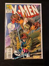 X-Men (1991) #33 Marvel Comics,Gambit vs Sabretooth