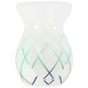 Yankee Candle Classic Green Lotus Flower Melt Warmer FREE WAX MELTS & Tea Lights