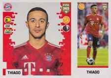 Panini Sticker Fifa 365 2019 Nr. 167 Thiago FC Bayern München NEUWARE Sammelbild