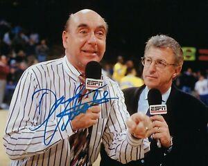 GFA NCAA ESPN Basketball Announcer DICK VITALE Signed 8x10 Photo D6 COA