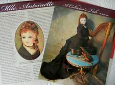 6p Costuming Article - Antique French Fashion Huret Doll & Clothing History
