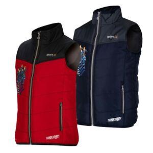 Regatta Earthbreaker Kids Boys Thunderbirds Bodywarmer Gilet Jacket RRP £25