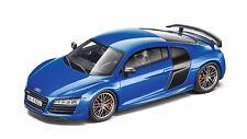 Original Audi R8 Coupe LMX Modellauto 1:43 Arablau Ara Blau 5011418413