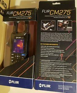Flir CM275 Thermal Imaging AC/DC Clamp Meter W/IGM resolution 19,200 Pixels
