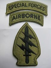 U.S. ARMY AUFNÄHER PATCH SPECIAL FORCES GROUP MULTICAM MIT KLETT UCP