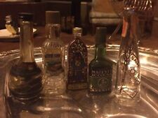 Vintage Lot Of Liquor Mini Bottles All Empty Quanity 5
