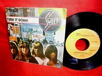 THE SWEET Turn it down / Someone else will 45rpm 7' + PS 1974 ITALY EX
