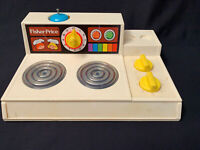 Vintage Fisher Price Pretend Play Oven 1978 Quaker Oats Co.