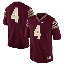 Florida State Seminoles No. 4 Nike Garnet Game Football Jersey Size L