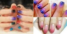 8x Nail Art Polish Stamping Gradient Triangle Sponge Paintings Drawing Manicure