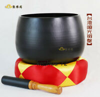30cm bronze chime meditation instrument in Buddhist temples in Taiwan 佛音罄钵