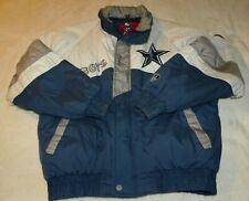 Dallas Cowboys Zip Front Lined Nylon Jacket Size M, 1994 Pro Player, Vintage