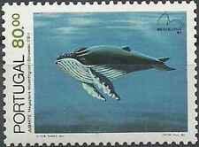 Timbre Faune marine Cétacés Baleines Portugal 1586 ** lot 27665