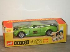Ford GT70 - Corgi Toys Whizzwheels 316 England in Box *34614