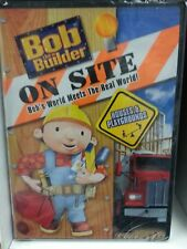 Bob the Builder - Bob the Bulder On Site: Houses and Playgrounds (DVD, 2008)