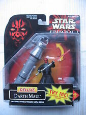 1/18 3.3/4 10cm STAR WARS BLISTER  DELUXE DARTH MAUL TRIGGER HANDLE