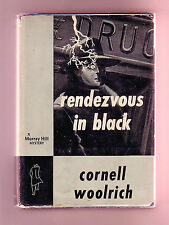 RENDEZVOUS IN BLACK (Cornell Woolrich/1st US/hardboiled noir)