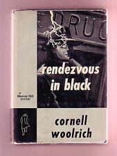 RENDEZVOUS IN BLACK (Cornell Woolrich/1st US/hardboiled noir)