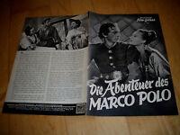 IFB 834 die Abenteuer des Marco Polo  GARY COOPER+BASIL RATHBONE