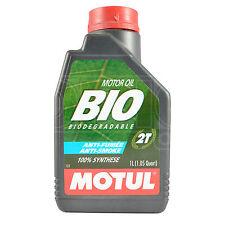 Motul BIO 2T BIODEGRADABLE Two Stroke High Performance Lubricant 1 Litre 1L