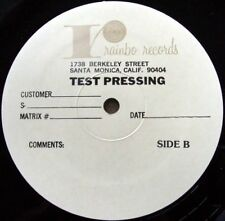 "ANNA DOMINO Tempting 12"" TEST PRESSING Giant Records"
