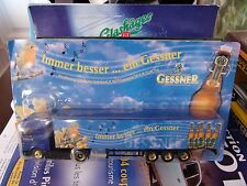 GESSNER GERMAN BEER TRUCK MERCEDES BENZ ACTROS SS BLÍSTER 1/87 IMMER BESSER