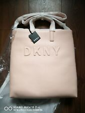 DKNY FLAT TOTE IN PINK NEW WITH TAG