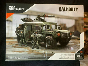 Call of Duty COD Mega Construx #DPB57 Armored Vehicle Charge