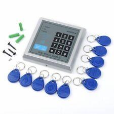 Sicherheit RFID Codeschloss Zugangssystem Zutrittskontrolle Türöffner +10 Clips