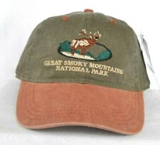 *SMOKY MOUNTAIN NATIONAL PARK* Ball cap hat longer bill *OURAY*