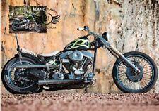 Harley Davidson HD Chopper Vintage Motorcycle Bike Aland Finland Maxi FDC 2018