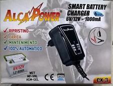 Caricabatterie Switching per batterie al piombo 6V e 12V CX-3 Alcapower 702923