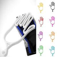 Plastic Sport Golf Gloves Keeper Stretcher Gloves Support Frame Rack Holder Hot