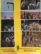 Man Of La Mancha 1972 Original US Lobby Card Set Sophia Loren, Peter O'Toole