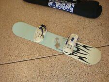 "Liquid Elixir Snowboard 45"" w/ Burton Contour Bindings, Piper bag"