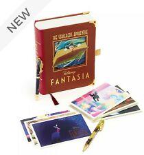More details for disney store fantasia postcards and pens set