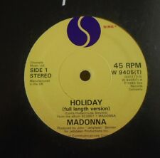 "MADONNA ~ Holiday ~ 12"" Single"