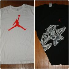 Nike Michael Jordan Shirt Short Sleeve Black L Xl Xxl White 908017 104