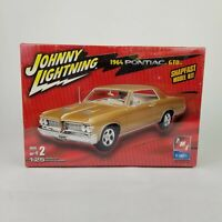 NEW 1964 Pontiac GTO Johnny Lightning AMT ERTL 1:25 Model Kit Snapfast SEALED